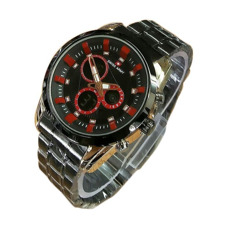 harga Swiss Army Digital SA X-004123 RGR Jam Tangan Pria - Black Red Blibli.com