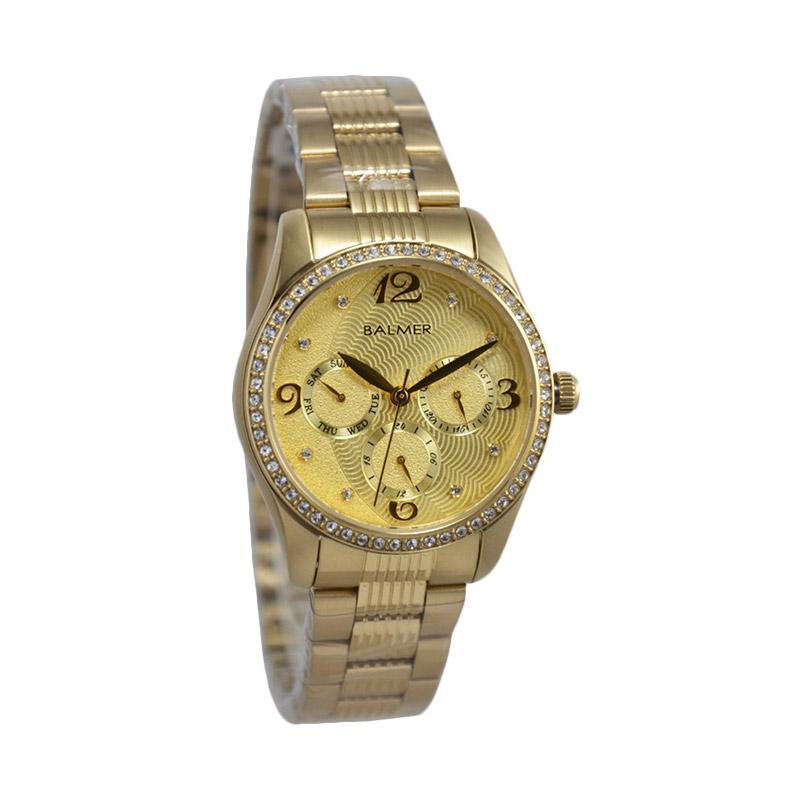 Balmer D34H450B7934LSGG Crhono multi fungsi Jam Tangan Wanita - Gold