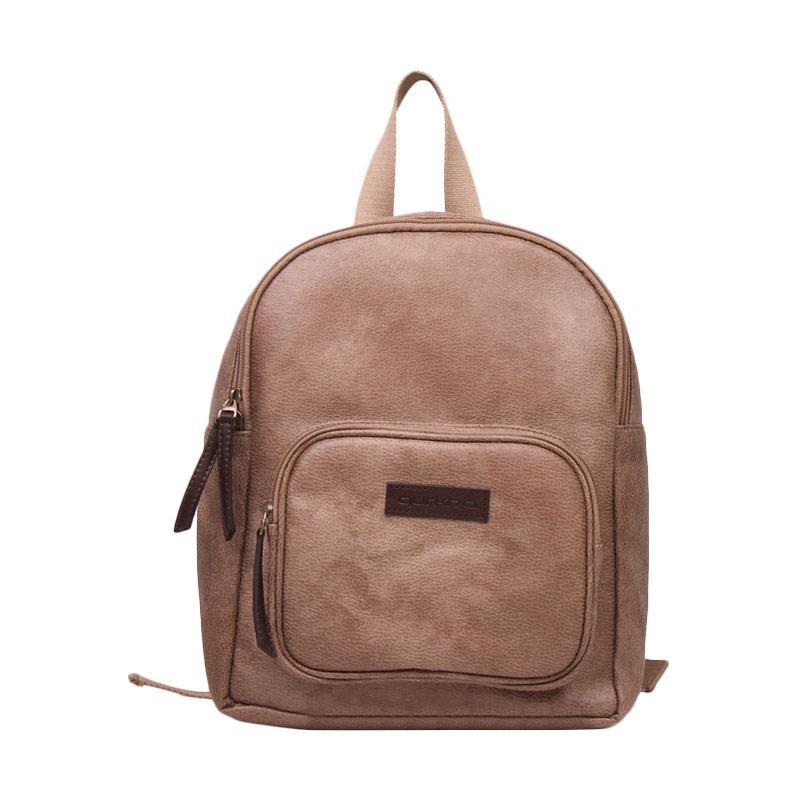 Gurkha BBP52 Syntethic Leather Mini Backpack Tas Wanita - Mocha