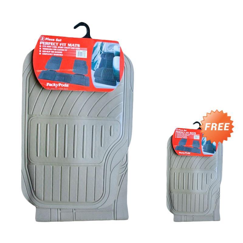 Buy 1 Get 1 Packy Poda Perfect Fit KPT 6133 - BG Karpet Mobil - Beige