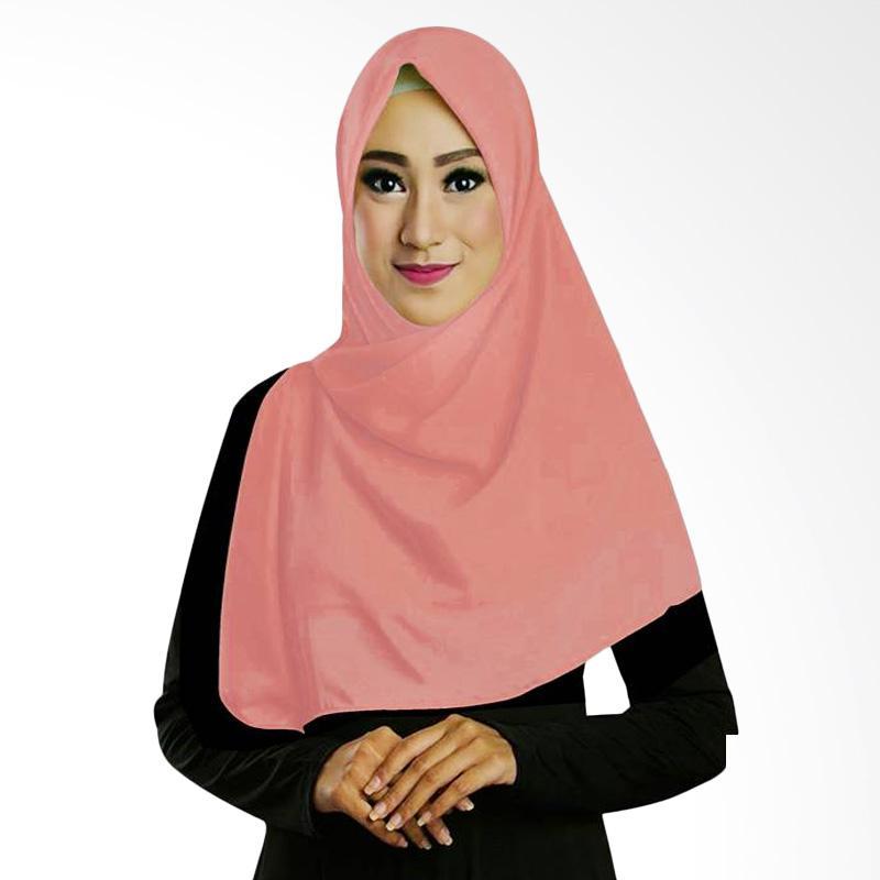harga Ruman Hijab Square Jilbab Kerudung Segi Empat - Salmon Blibli.com