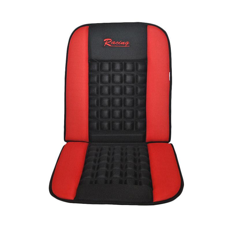 Saizen Sandaran Mobil Pijat Mostwanted Cushion Seat - Red