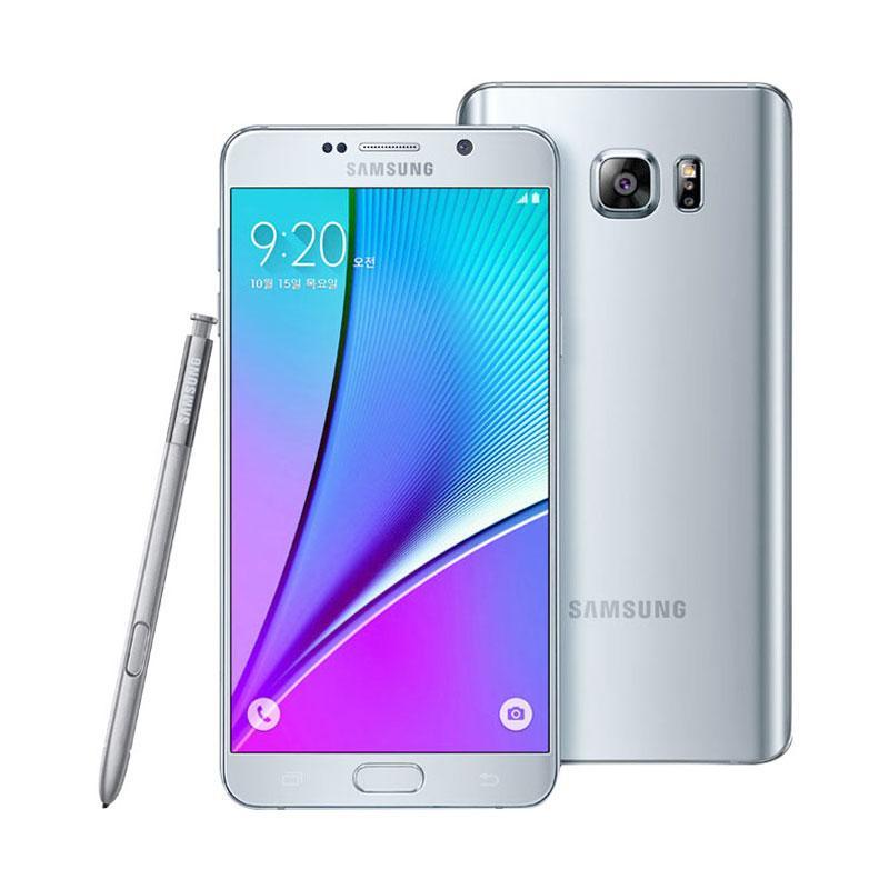 Samsung Galaxy Note 5 Smartphone - Silver [64 GB/4 GB/Dual SIM]
