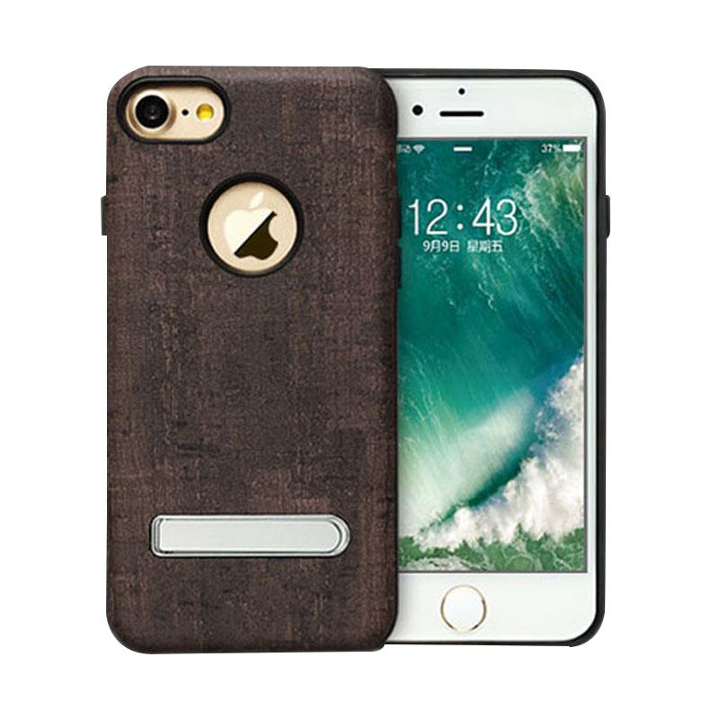 Totu King Series Sticks Stent Casing for iPhone 7 - Brown