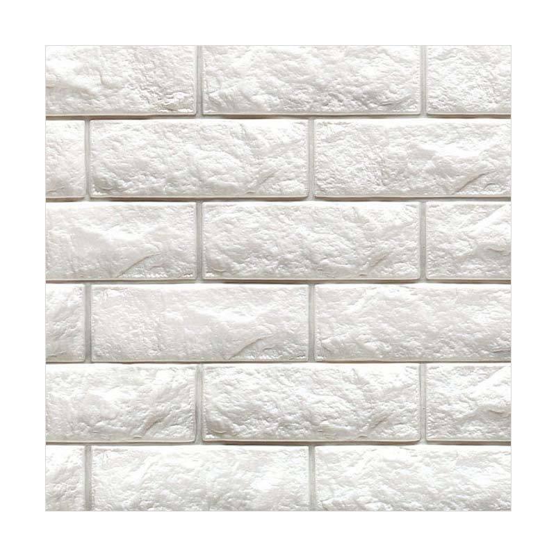 Hyundae Fixpix Fix Brick 3D Wallpaper SDB 26501 Dekorasi Dinding [100 x 45 cm]