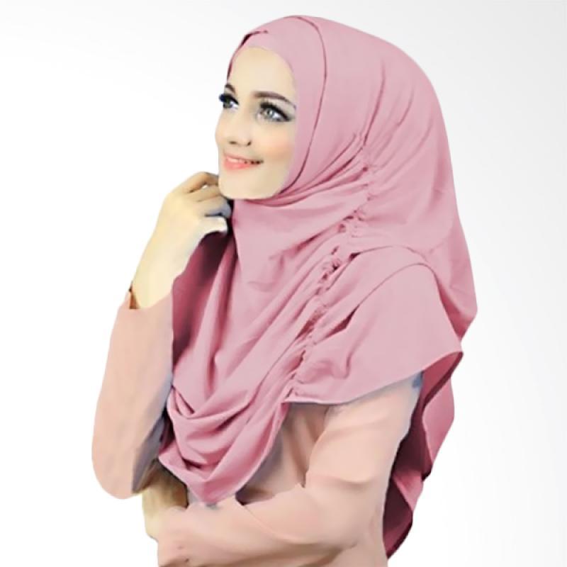 Kus Group Hijab Narinda Kerudung Syar'I - Dusty Pink