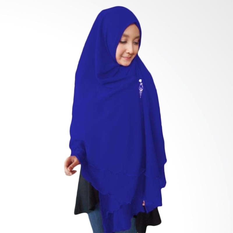 Kus Group Hijab Oki Panjang Kerudung Syar'I - Biru Tua