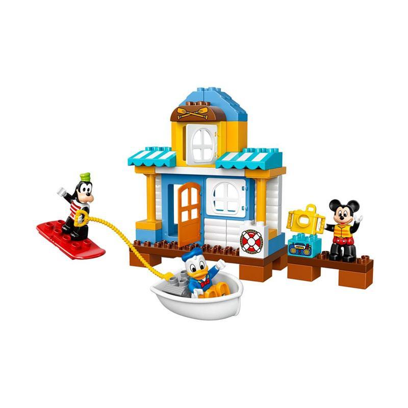 Jual Lego Duplo 10827 Mickey Friends Beach House Blocks Stacking