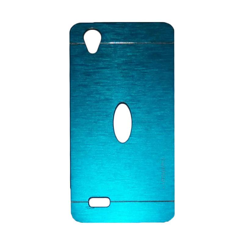 Motomo Metal Backcase Hardcase Casing for Vivo Y31 - Sky Blue