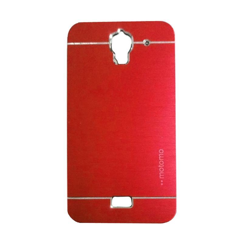 Motomo Metal Hardcase Backcase Casing for Huawei Y3 Batik - Red