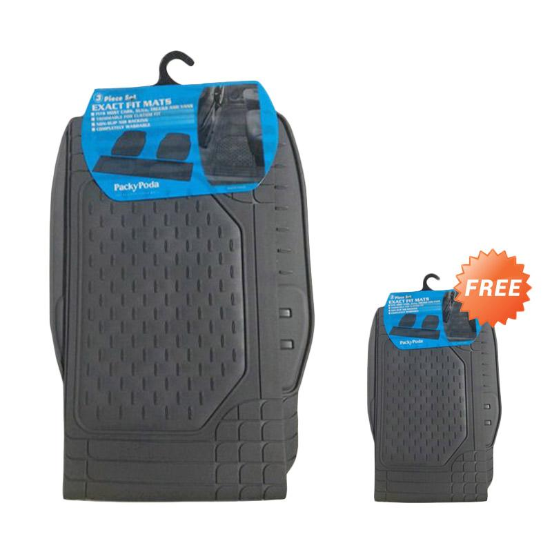 Buy 1 Get 1 Packy Poda Exact Fit KPT 9333 - GR Karpet Mobil - Grey