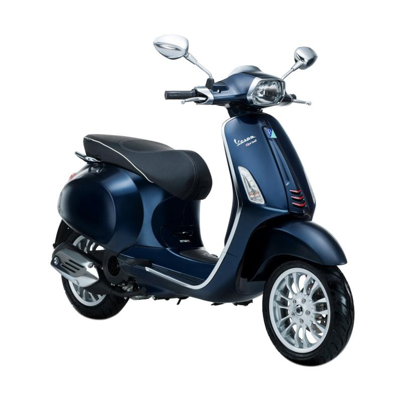 harga Vespa Sprint 150 i-Get Sepeda Motor - Blu Midnight [OTR Bandung] Blibli.com