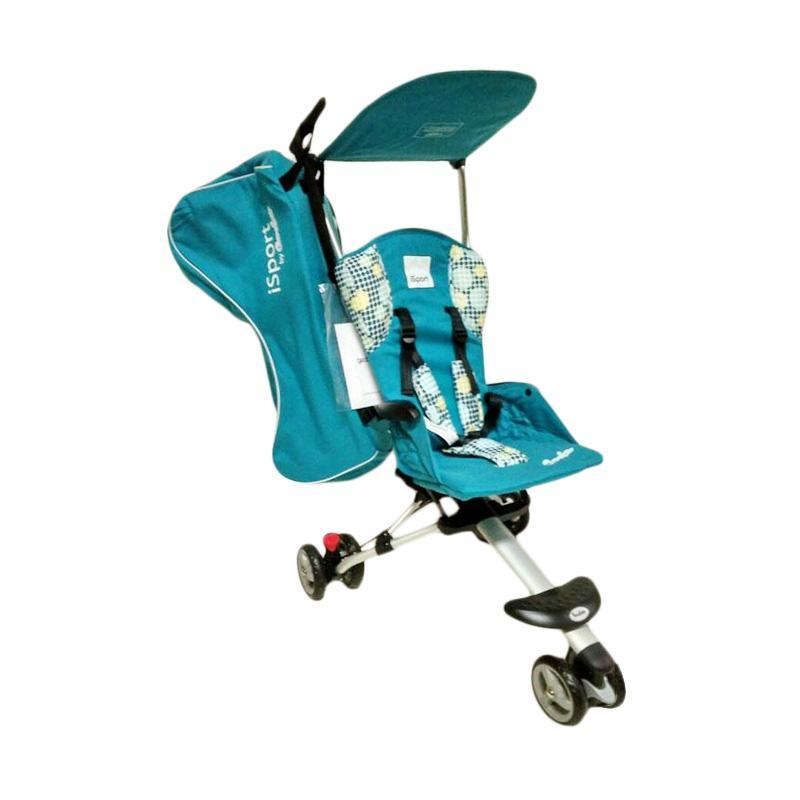 harga Cocolatte 08 Isport WC6B Limited Edition Baby Stroller - Blue Blibli.com