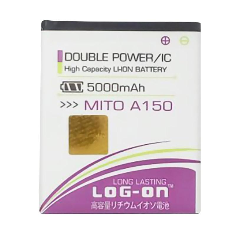 Tempat Jual Log On Double Power & IC Battery for Mito A150 [5000 .