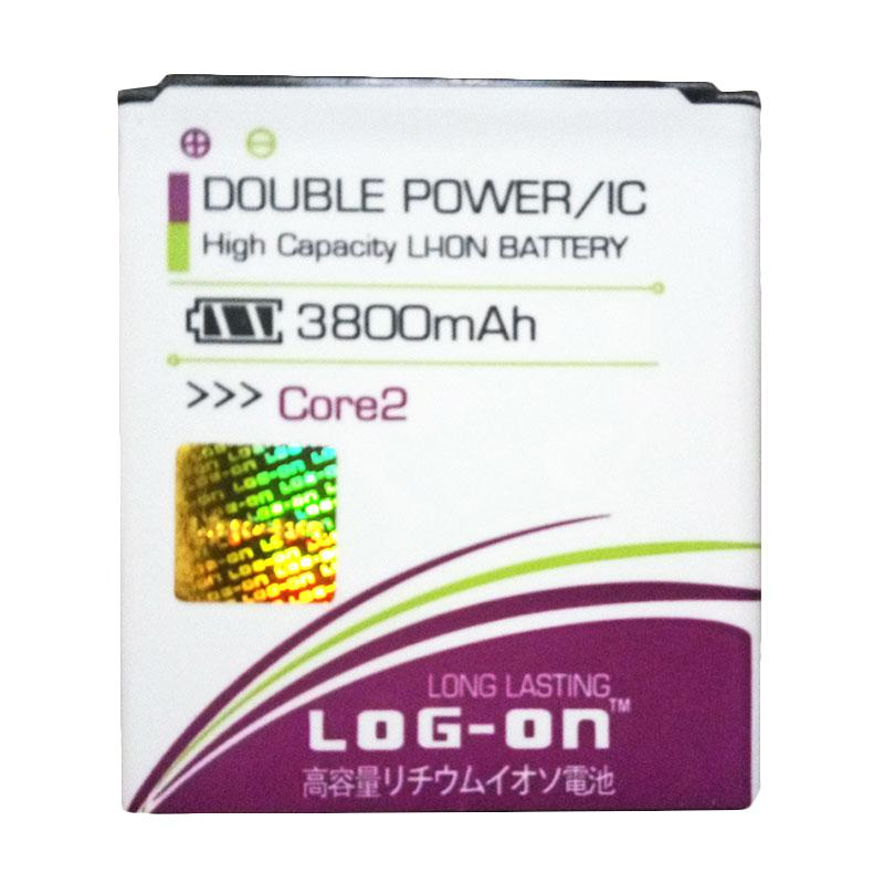 Log On Double Power Baterai for Samsung Galaxy Core 2 G355H [3800 mAh]