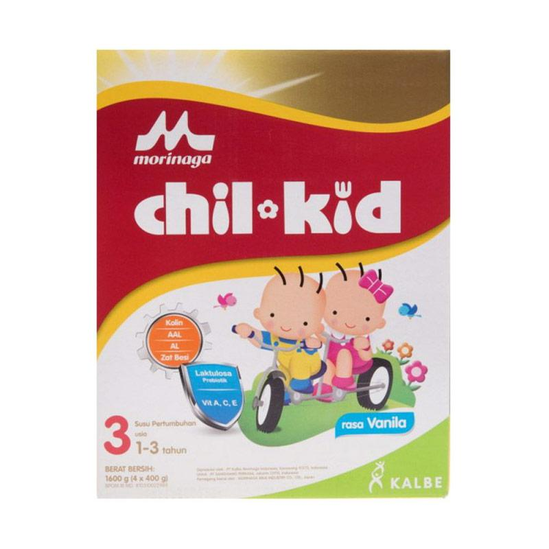 Morinaga Chil Kid Tahap 3 Vanilla Reguler Susu Formula [1600 gr]