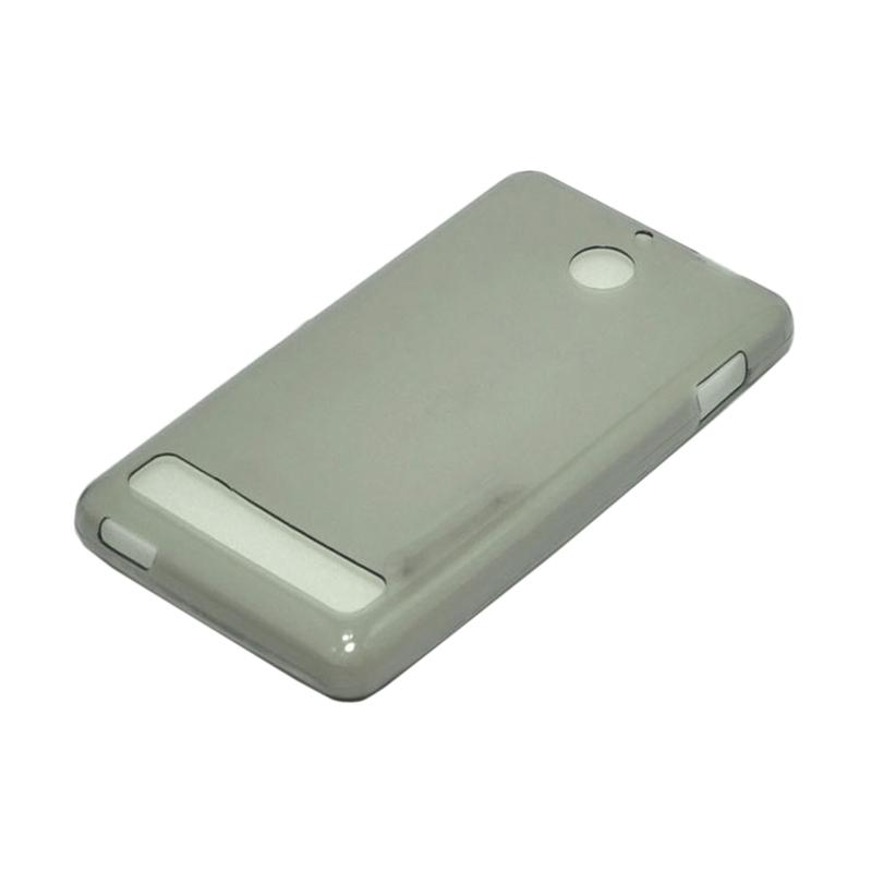 OEM Ultrathin Jelly Softcase Casing for Sony Xperia E1 - Grey