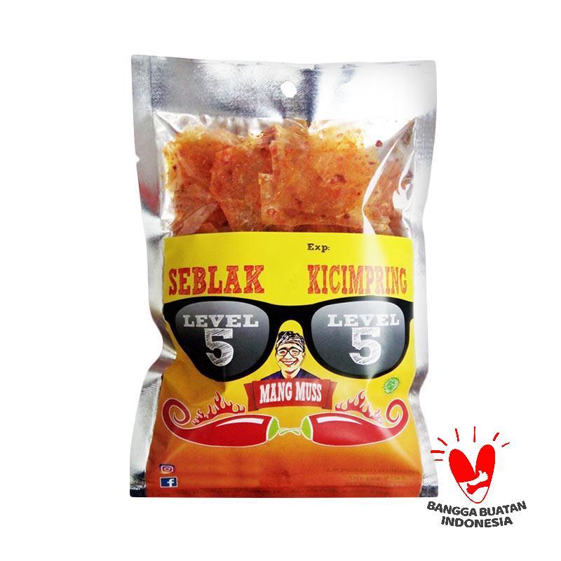 Seblak Mang Muss Kicimpring Makanan Kering [Level 5]- 10 Pcs