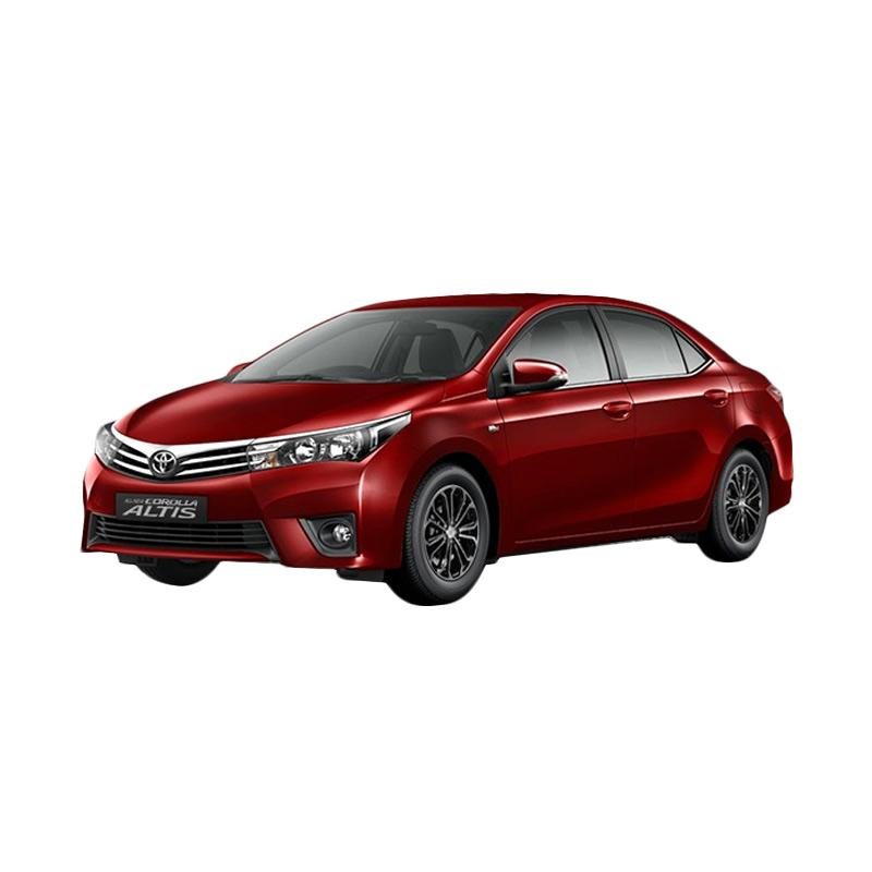 harga Toyota All New Corolla Altis 1.8 V A/T Mobil - Red Mica Metallic Blibli.com