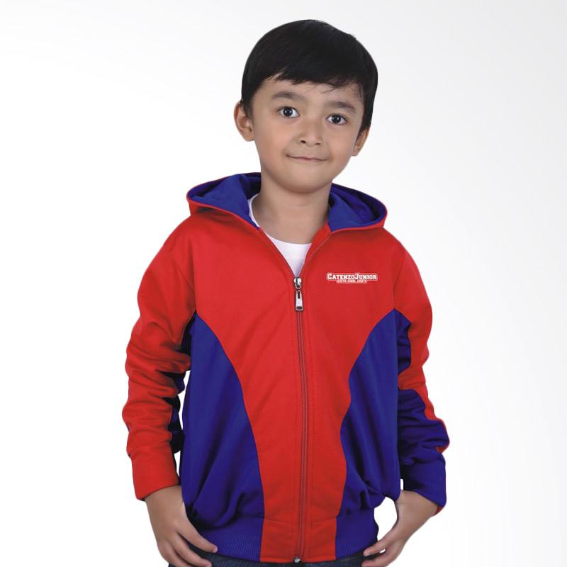 Catenzo Junior Casual CJR CYI 160 Jaket Anak Laki-Laki - Red