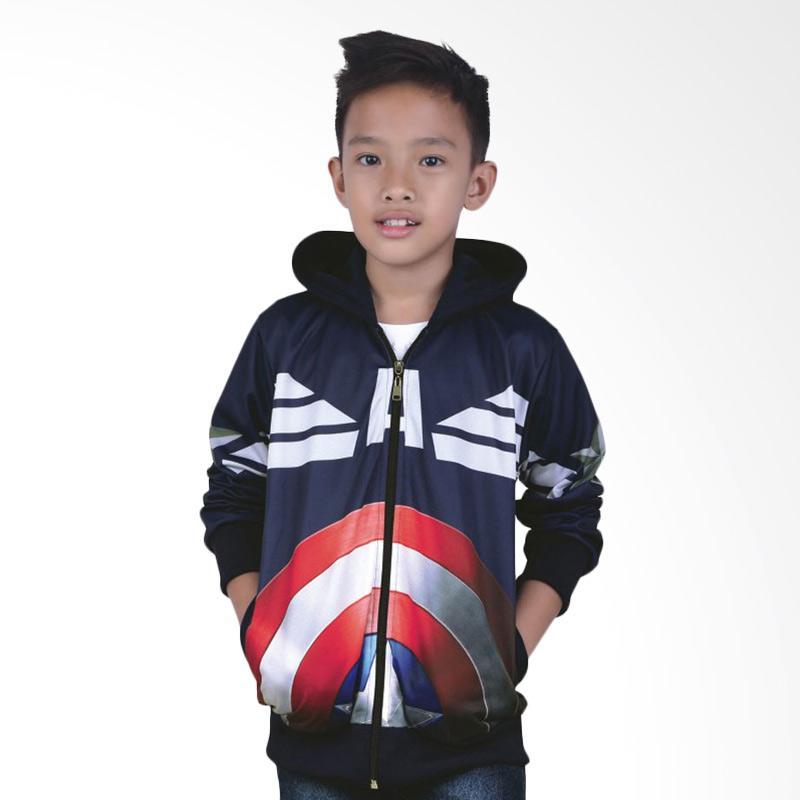 Catenzo Junior CJR CYI 161 Casual Jaket Anak Laki Laki