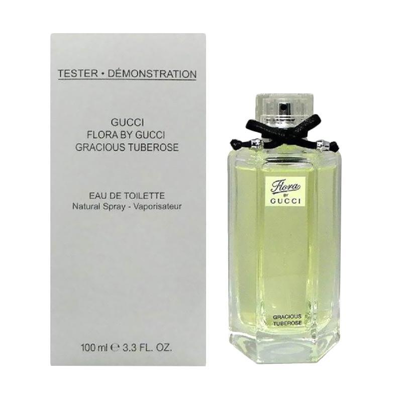 Gucci Flora Gracious Tuberose EDT Parfum Wanita [100 mL/Tester]