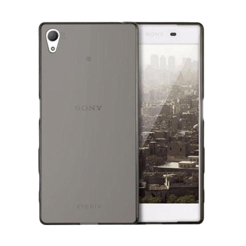 OEM Ultrathin Jelly Softcase Casing for Sony Xperia C4 - Grey