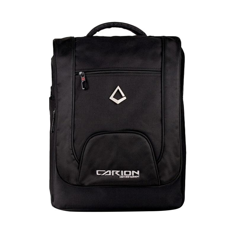 Polo Carion 330007 Trifungsi Tas Laptop with Raincover - List Hitam