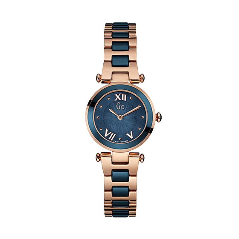 Guess Collection Y07010L7 Jam Tangan Pria -  Rose Gold