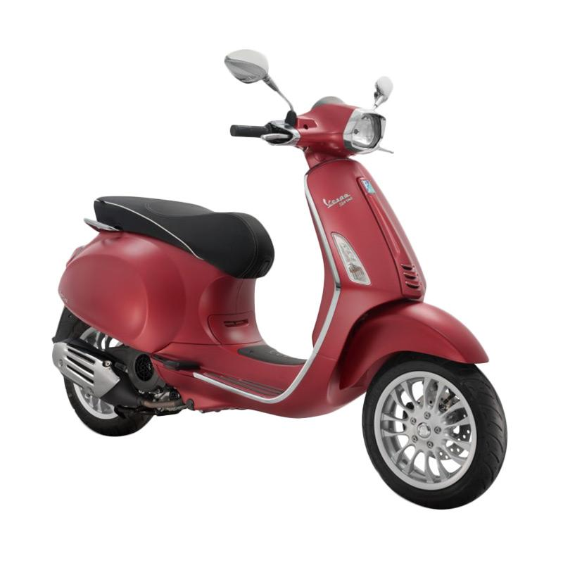 harga Vespa Sprint 150 i-Get Sepeda Motor - Rosso Matt [OTR Bandung] Blibli.com