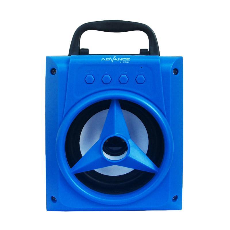 Advance H-14 Jinjing Xtra Power Sound Speaker Portable - Biru