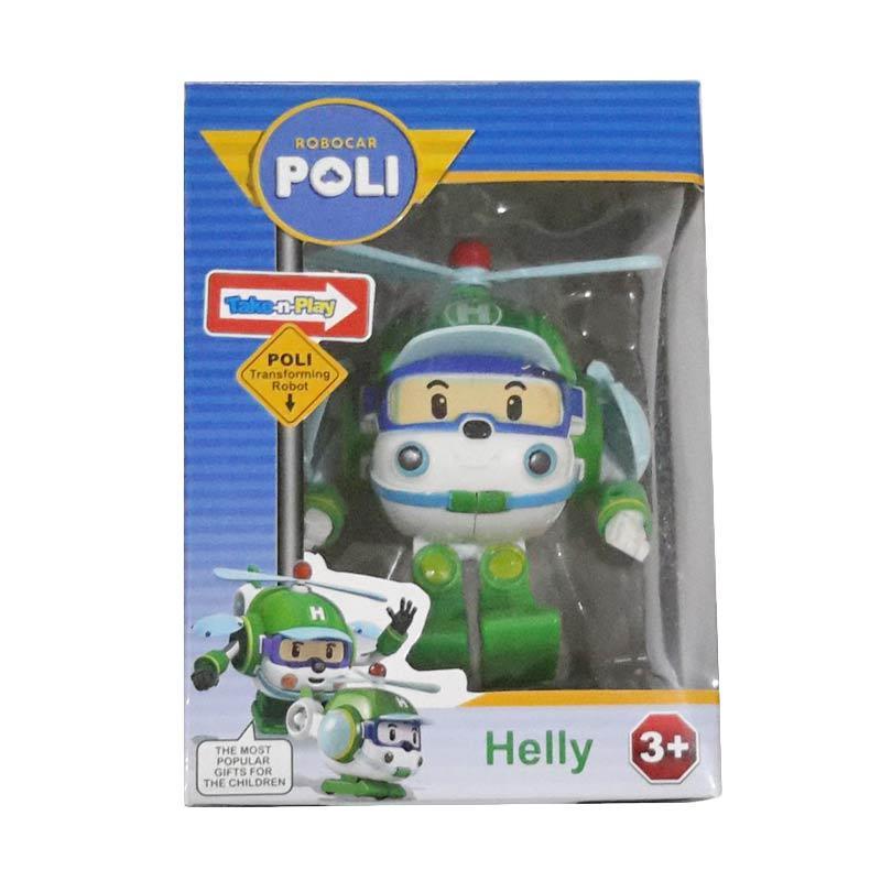 CL Kiddos Robocar Poli Helly Robot Helicopter Mainan Anak .