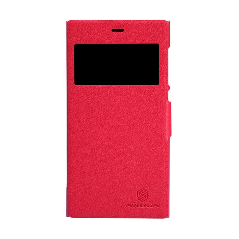Nillkin Original Fresh Flip Cover Casing for Xiaomi M3 - Red