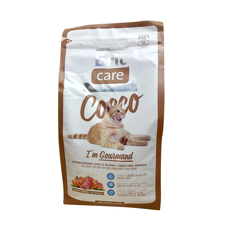 Brit Care Super Premium Cocco I'm Gourmand Dry Cat Food [2 kg]