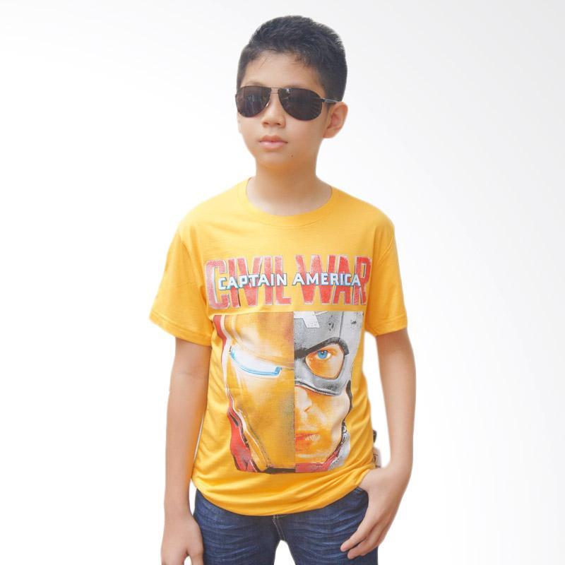 Chloe Babyshop Civil War F698 T-shirt - Kuning
