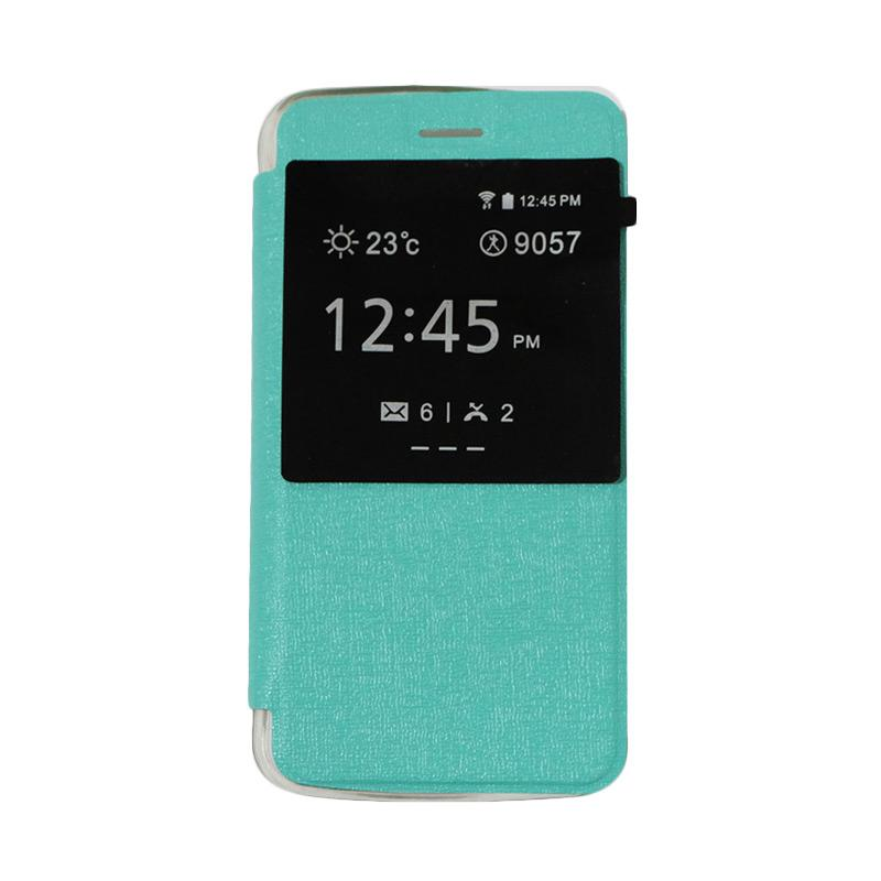 Ume Flipshell Window Flip Cover Casing for Andromax C3S - Tosca