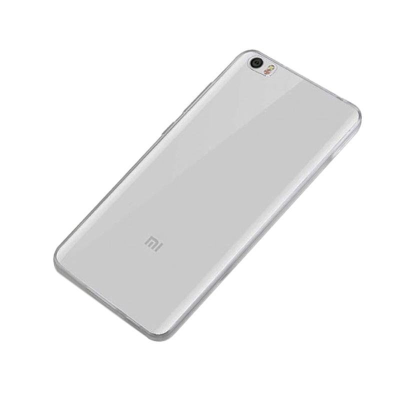 OEM Ultrathin Jelly Softcase Casing for Xiaomi MI NOTE - Grey