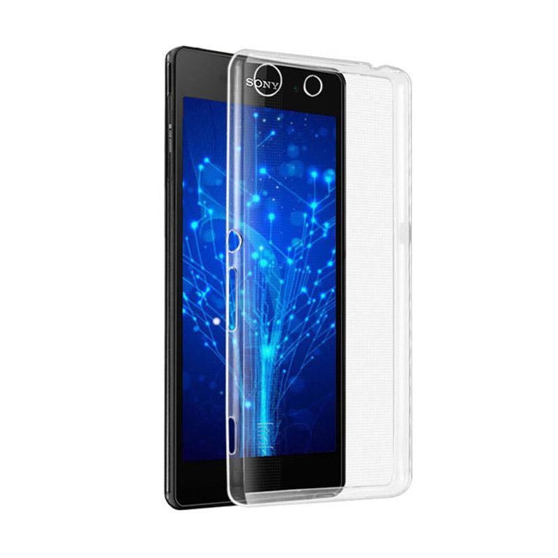 OEM Ultrathin Jelly Softcase Casing for Sony Xperia M5 - Clear