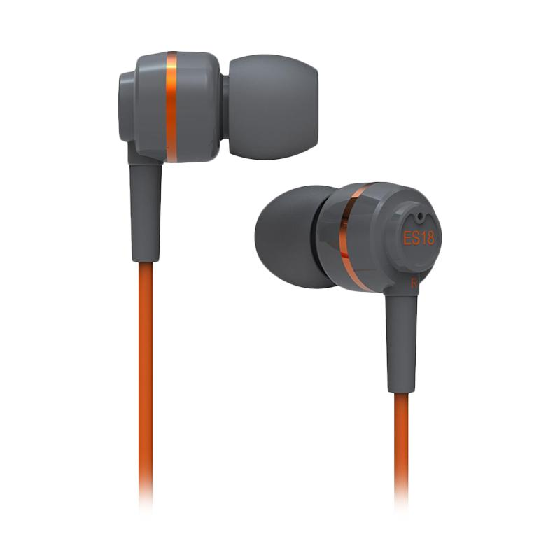 SoundMAGIC SM ES18 In Ear Earphones - Grey Orange