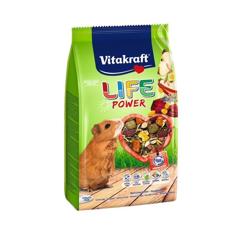 Vitakraft Life Power for Guinea Pig Makanan Marmut[600 g]