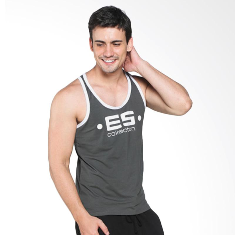 Boostwear Tank Top Muscle Back Army Singlet Olahraga
