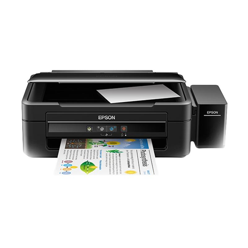 Epson L380 Ink Tank System Printer - Hitam [Print/ Scan/ Copy]