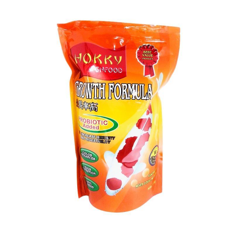 Hokky Growth Formula Pakan Koi [Medium Pellet @1kg] by IOKOI Fish