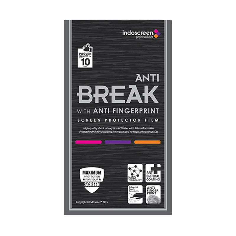 Indoscreen Anti Break Screen Protector for Samsung Galaxy S8 - Clear [Fullset]