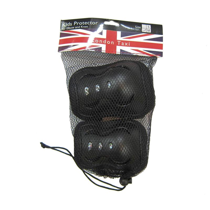 harga Daily Deals - London Taxi Elbow and Knee Protectors for Kids - Black Blibli.com