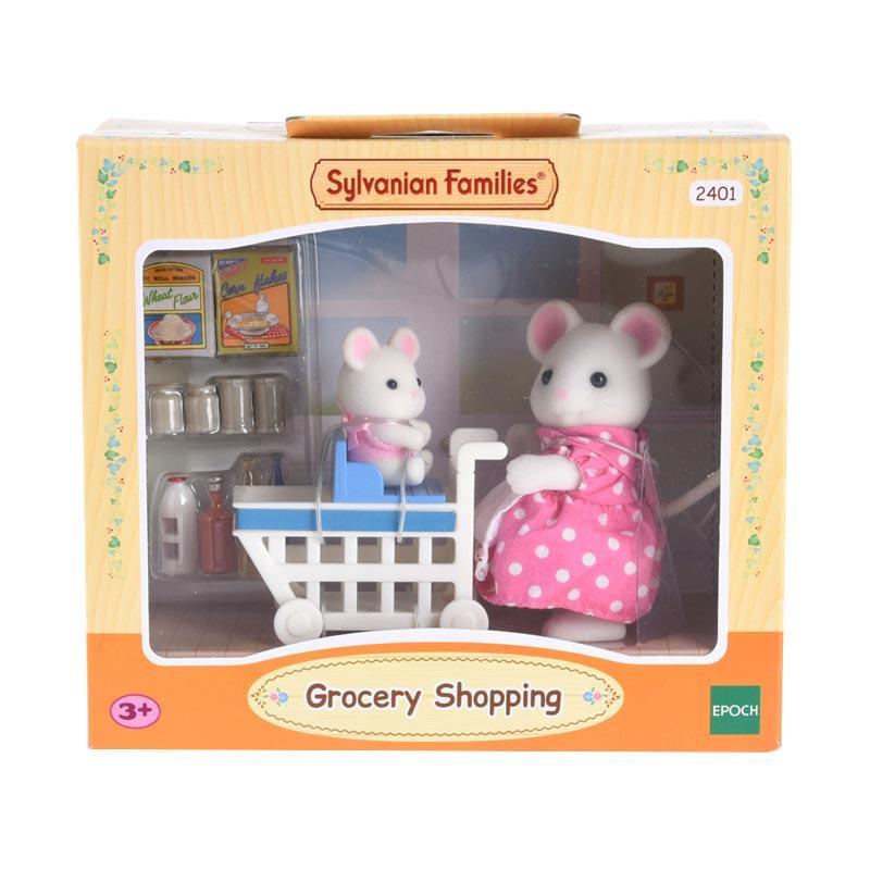 Sylvanian Families Grocery Shopping Set Mainan Anak