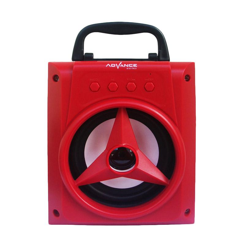 harga Advance H-14 Jinjing Xtra Power Sound Speaker Portable - Merah Blibli.com
