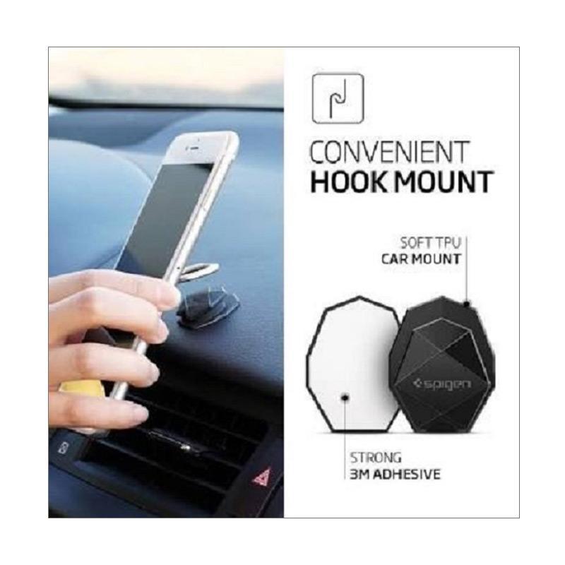 G-smart Ring Stand Style Holder Hook Logo Samsung - Grey
