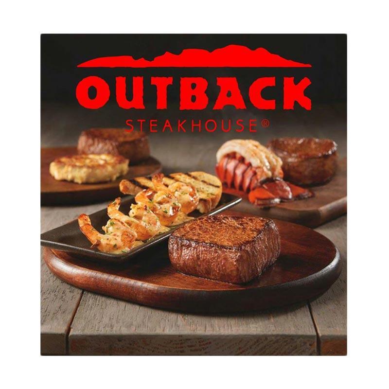 Outback Steakhouse Voucher senilai Rp 400 000 Rp 200 000