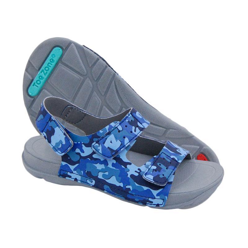 Toezone Kids Bali Ch Navy Camo Sepatu Sandal Anak Laki